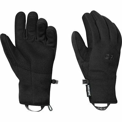 Outdoor Research Womens Gripper Gloves, Black, Large