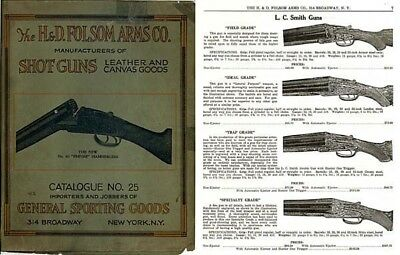 H & D Folsom 1927 Gun and Sports Catalogue No 25