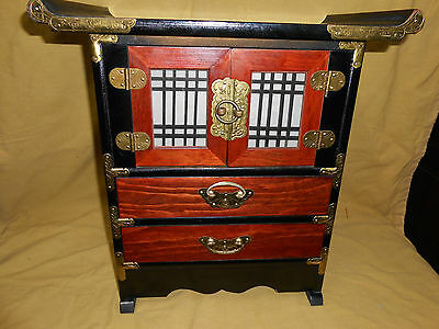 Chinese Small Collectors Cabinet