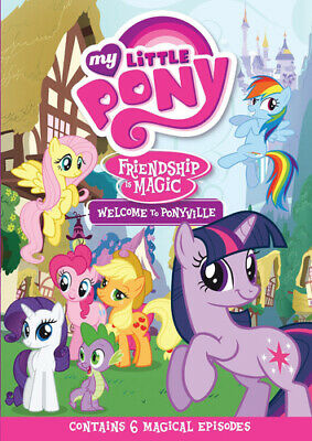 My Little Pony: Welcome to Ponyville DVD (2013) cert U FREE Shipping, Save £s