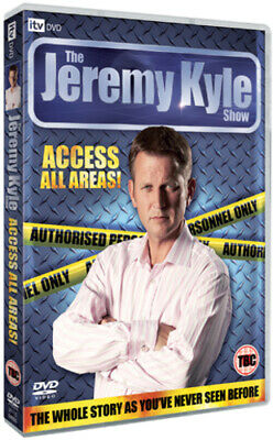 Jeremy Kyle: Access All Areas DVD (2009) Jeremy Kyle cert 15 Fast and FREE P & P