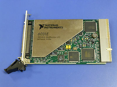 National Instruments PXI-6031E NI DAQ Card, Multifunction, 64ch Analog Input
