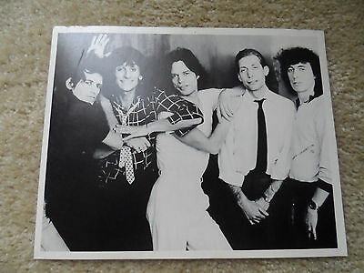 Vintage 1960s Rolling Stones Fan Club Music Photo 8X10 The Band w/Mick Jaggar