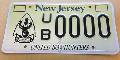 Us new jersey license plates automobilia transportation for New jersey fishing license