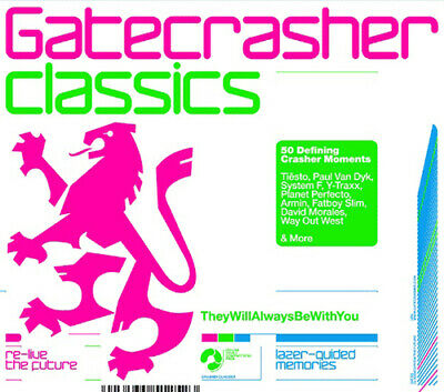 Various Artists : Gatecrasher Classics CD 3 discs (2005) FREE Shipping, Save £s