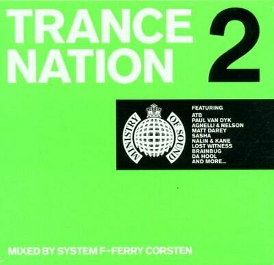 Various Artists : Ministry of Sound Trance Nation 2 CD