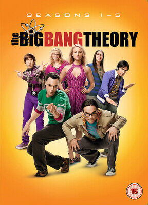 The Big Bang Theory: Seasons 1-5 DVD (2012) Johnny Galecki