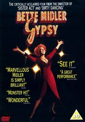 Gypsy DVD (2005) Bette Midler, Ardolino (DIR) cert PG FREE Shipping, Save £s