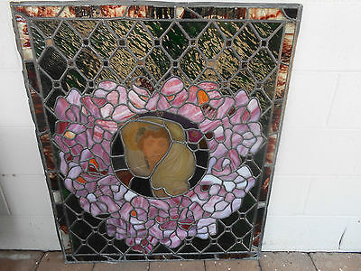 Leadlight Glass Panel