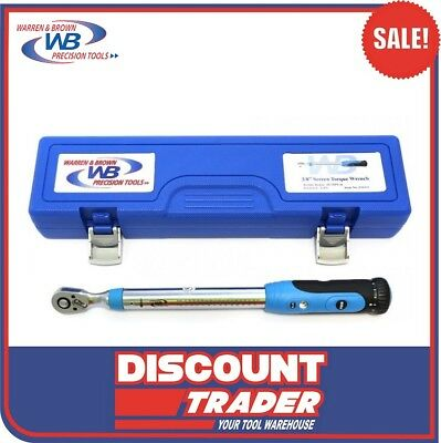 """GearWrench 3/8"""" Micrometer Torque Wrench 10-100 ft/lbs - 85062"""