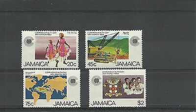 Jamaica Sg575-578-Commonwealth Day Mnh