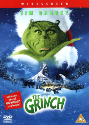 The Grinch DVD (2001) Jim Carrey, Howard (DIR) cert PG FREE Shipping, Save £s