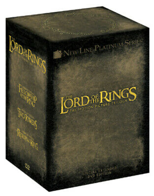 The Lord of the Rings Trilogy: Extended Versions DVD (2005) Elijah Wood