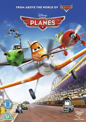 Planes DVD (2013) Klay Hall