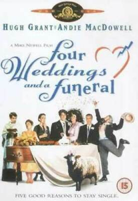 Four Weddings and a Funeral DVD (2001) Hugh Grant, Newell (DIR) cert 15