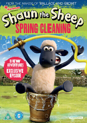 Shaun the Sheep: Spring Cleaning DVD (2014)