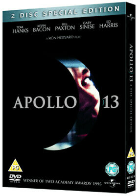 Apollo 13 DVD (2005) Tom Hanks, Howard (DIR) cert PG 2 discs Fast and FREE P & P