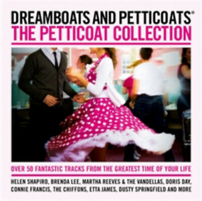 Various Artists : Dreamboats and Petticoats: Petticoat Collection CD (2012)