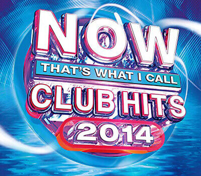 Various Artists : Now That's What I Call Club Hits CD 3 discs (2014) Great Value