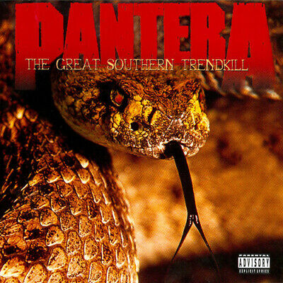 Pantera : The Great Southern Trendkill CD (1996)