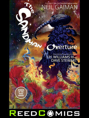 SANDMAN OVERTURE DELUXE EDITION HARDCOVER New Hardback Collects Issues #1-6