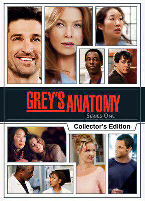Grey's Anatomy: Complete First Season DVD (2009) Ellen Pompeo