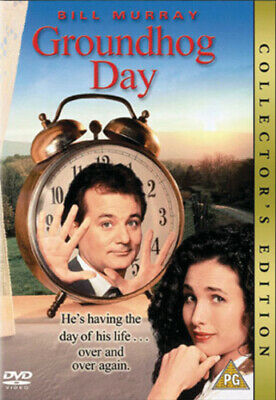 Groundhog Day DVD (2002) Bill Murray, Ramis (DIR) cert PG FREE Shipping, Save £s