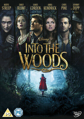 Into the Woods DVD (2015) Meryl Streep