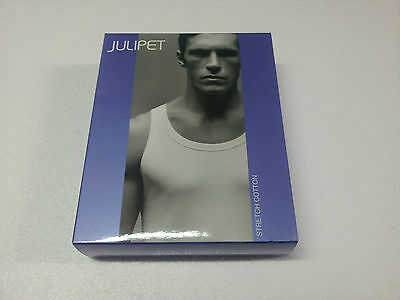 JULIPET tank top man 96 % cotone 4 % elastane MADE IN ITALY
