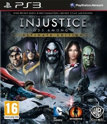 Injustice: Gods Among Us: Ultimate Edition (PS3) VideoGames