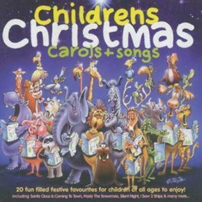 Childrens Christmas Carols + Songs CD (1996) Incredible Value and Free Shipping!