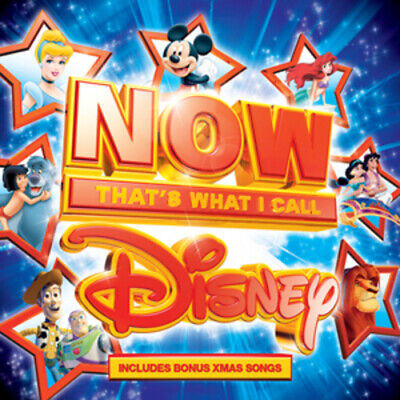 Various Artists : Now That's What I Call Disney CD Box Set 4 discs (2012)