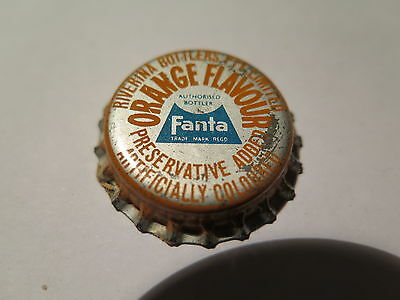 Crown Seal Bottle Cap Coca Cola Fanta Orange Riverina Bottlers Nsw Unused 1960