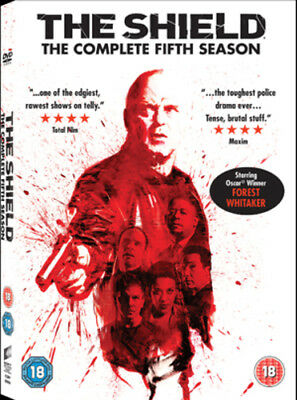 The Shield: Series 5 DVD (2012) Michael Chiklis ***NEW***