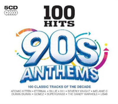 Various Artists : 100 Hits: 90s Anthems CD (2011)