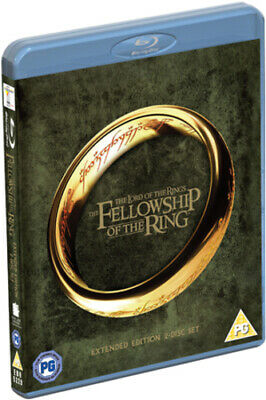 The Lord of the Rings: The Fellowship of the Ring - Extended Cut Blu-ray (2012)