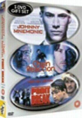 Johnny Mnemonic/Chain Reaction/Point Break DVD (2003) Keanu Reeves