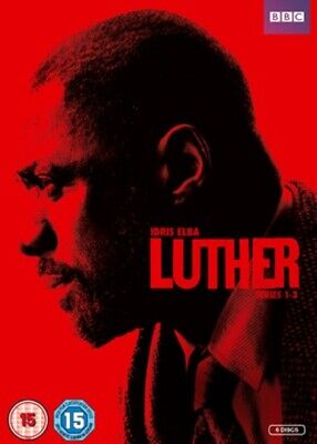 Luther: Series 1-3 DVD (2013) Idris Elba cert 15 6 discs FREE Shipping, Save £s
