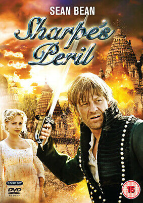 Sharpe's Peril DVD (2008) Sean Bean, Clegg (DIR) cert 15 2 discs Amazing Value