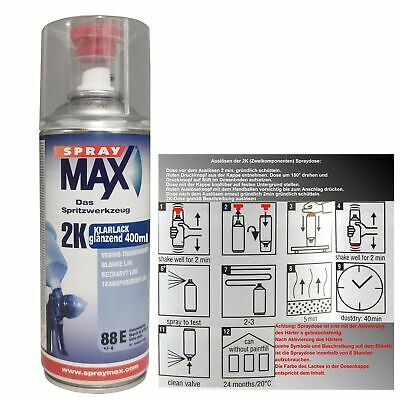 2K Klarlack Spray MAX 400 ml