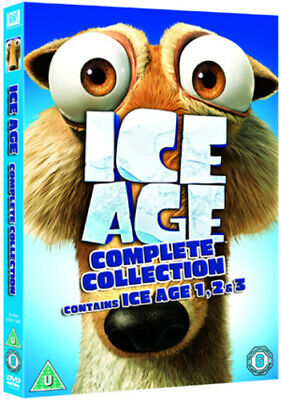 Ice Age 1-3 DVD (2009) Chris Wedge cert U 3 discs Expertly Refurbished Product