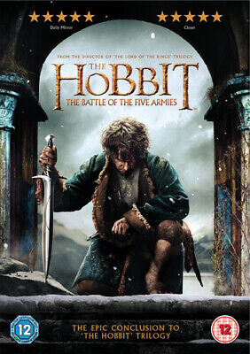 The Hobbit: The Battle of the Five Armies DVD (2015) Martin Freeman