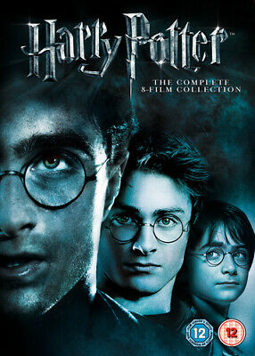 Harry Potter: The Complete 8-film Collection DVD (2011) Daniel Radcliffe,