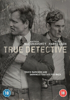 True Detective: The Complete First Season DVD (2014) Matthew McConaughey cert