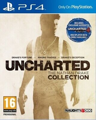 Uncharted: The Nathan Drake Collection (PS4) PEGI 16+ Adventure Amazing Value
