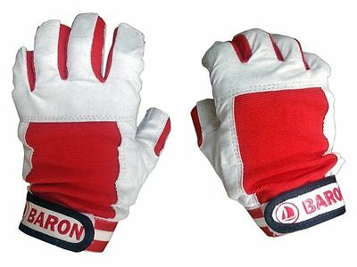 Marine Sailing Yachting Gloves For Boats - Size: Xl - 5 Fingers Cut- Five Oceans