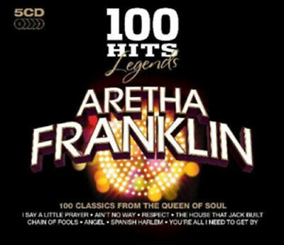 Aretha Franklin : Aretha Franklin CD Box Set 5 discs (2010) Fast and FREE P & P