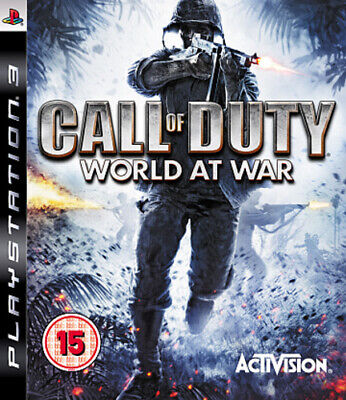 Call of Duty: World at War (PS3) Shoot 'Em Up Expertly Refurbished Product