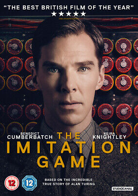 The Imitation Game DVD (2015) Benedict Cumberbatch, Tyldum (DIR) cert 12
