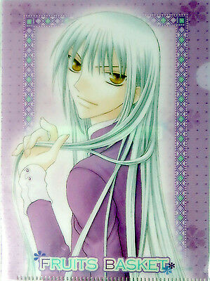 Fruits Basket Ayame Mini Clear File Folder Plastic Anime NEW